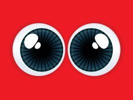 Monster Emoji Face Stickers