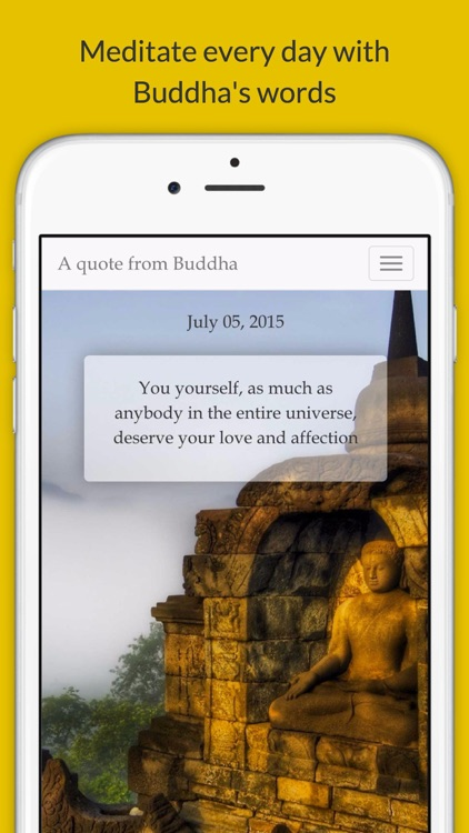 A quote from Buddha by Javier Piris