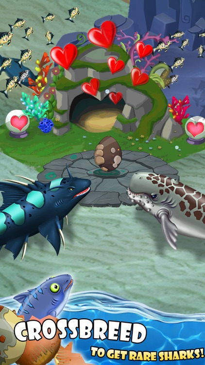 SHARK WORLD: Sharks & Jurassic animal battle games screenshot-3