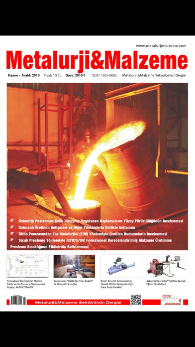 Metallurgy Material Magazine screenshot 1