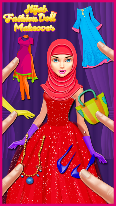 Hijab Fashion Doll Makeover - Turkish Makeup Salon screenshot two