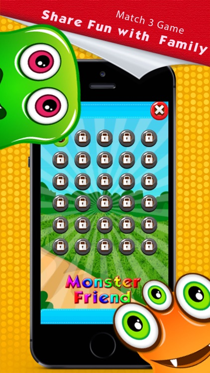 Monster Crush Match 3 Puzzle Game