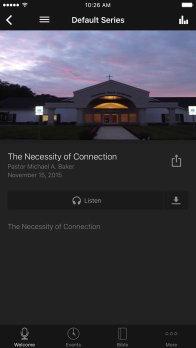 Victorious Faith Fellowship screenshot two