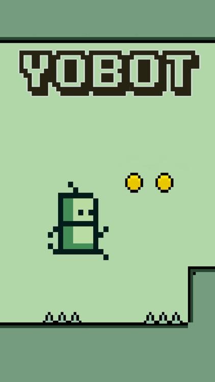 Yobot Run - Pixel Games screenshot-0