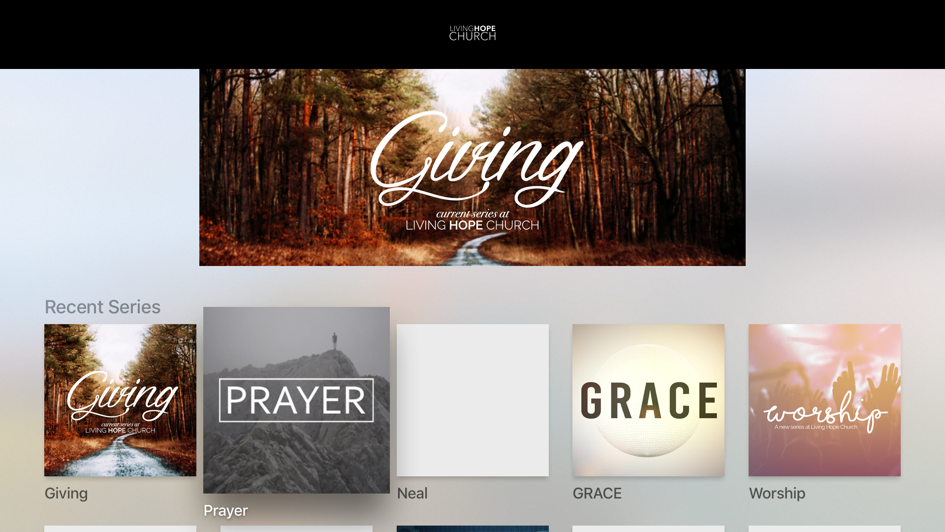 Living Hope Church App screenshot 7