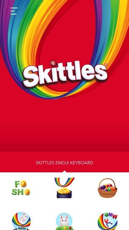 Skittles Emoji Keyboard