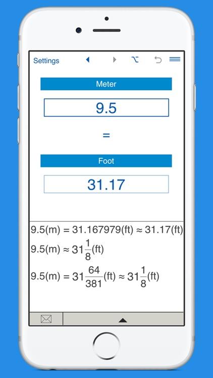 Feet to Meters and Meters to Feet length converter