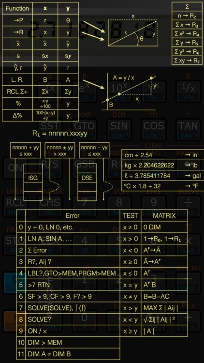 Touch 15i scientific RPN calculator screenshot-4
