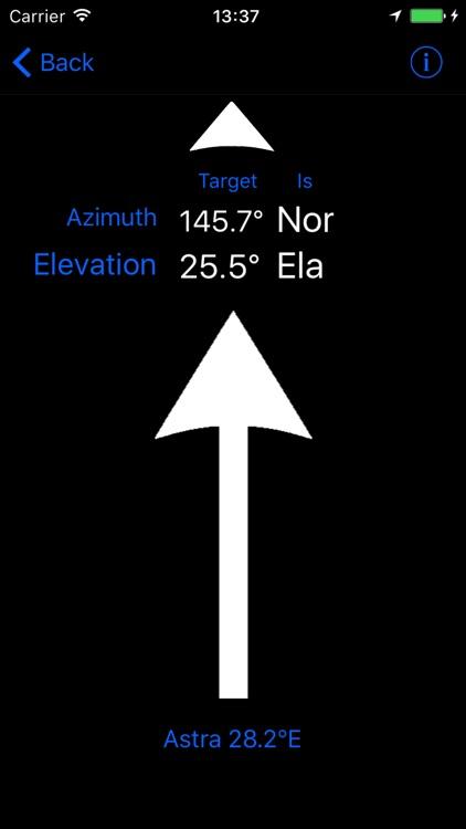 SatFinder GPS EU screenshot-3