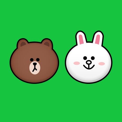 BROWN & CONY Emoji Stickers - LINE FRIENDS