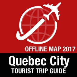 Quebec City Tourist Guide + Offline Map