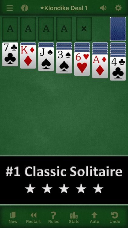 Solebon Solitaire – 50 Card Games screenshot-0