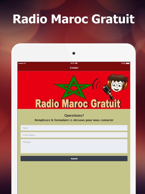 Radio Maroc Gratuit: Nouvelles, musique et sports-ipad-2