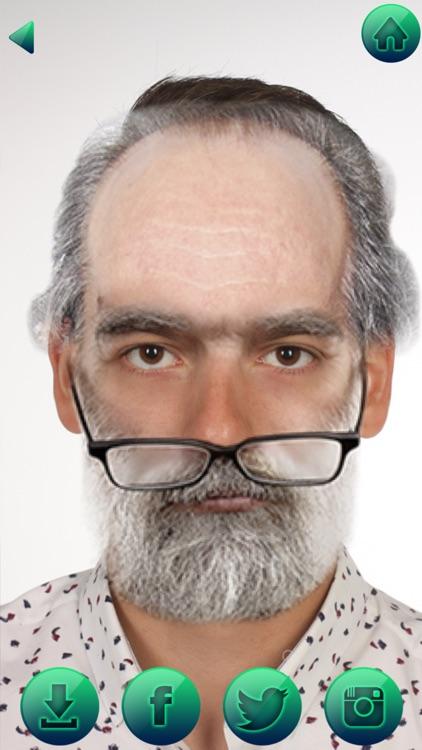 Make Me Old Booth Face Changer screenshot-3