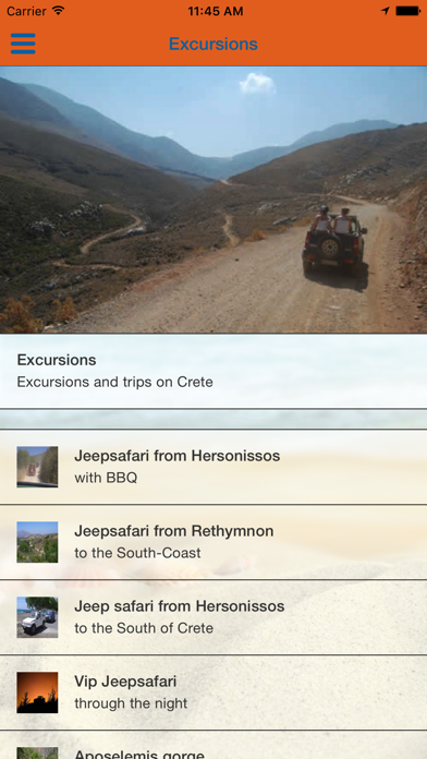 Eye Travel Excursions screenshot two