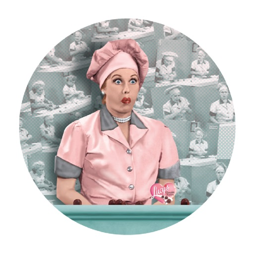 I Love Lucy - Colorized Stickers