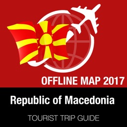 Republic of Macedonia Tourist Guide + Offline Map