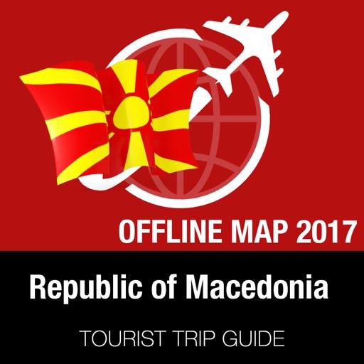 Republic of Macedonia Tourist Guide + Offline Map
