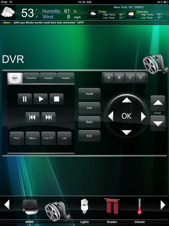 Crestron Mobile Pro G screenshot-1