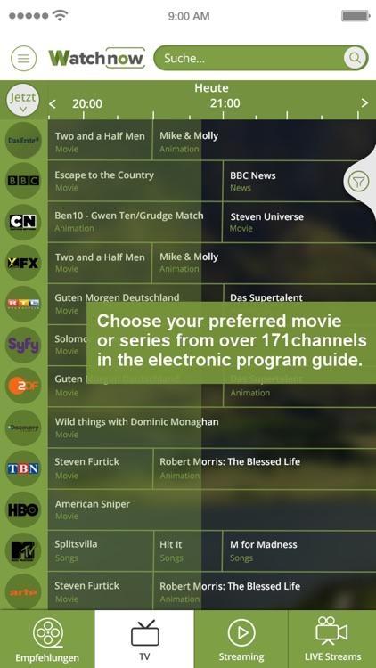 Watchnow Streaming & TV Guide screenshot-4