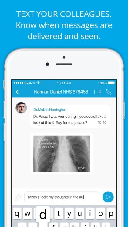 Medic Bleep-Medical Messenger screenshot-4