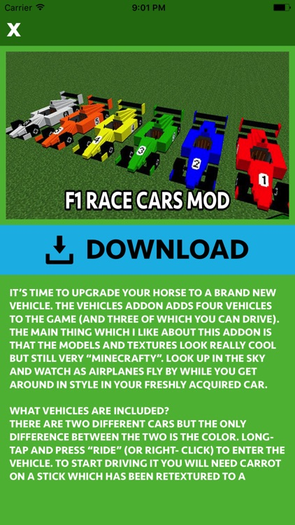 CARS MOD FOR MINECRAFT PC GAME screenshot-4