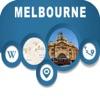 Melbourne Australia Offline City Map Navigation
