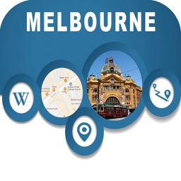 Melbourne Australia Offline City Map Navigation