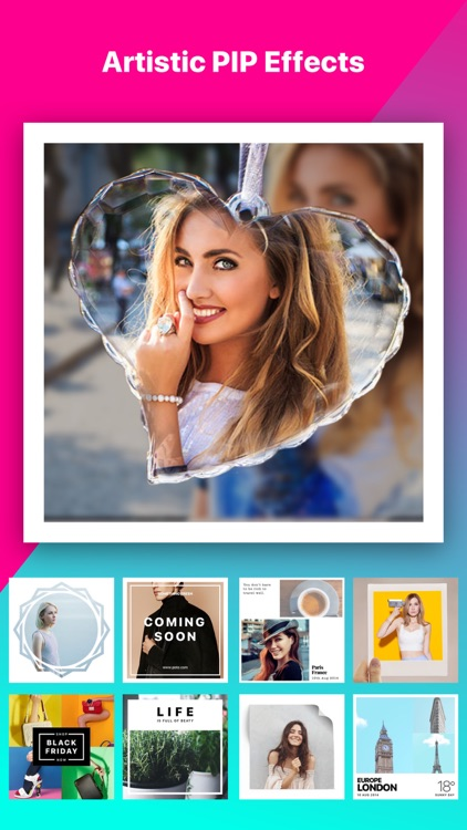 Photable - Collage Maker, Photo Editor app image