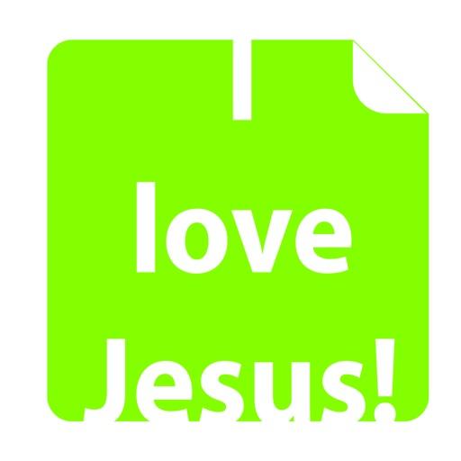 i love Jesus! Amen (FREE) Emoji Sticker