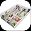 ホームデザイン - Interior 3D