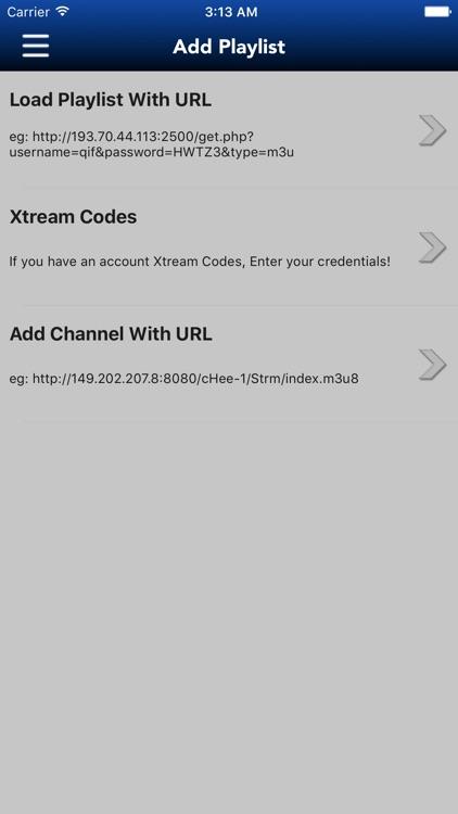 IP Television - IPTV,  M3U Player, Watch Live TV screenshot-3