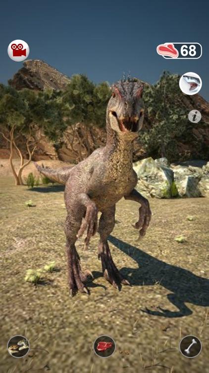 Talking Raptor : My Pet Dinosaur screenshot-0
