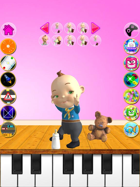 Talking Babsy Baby ipad ekran görüntüleri