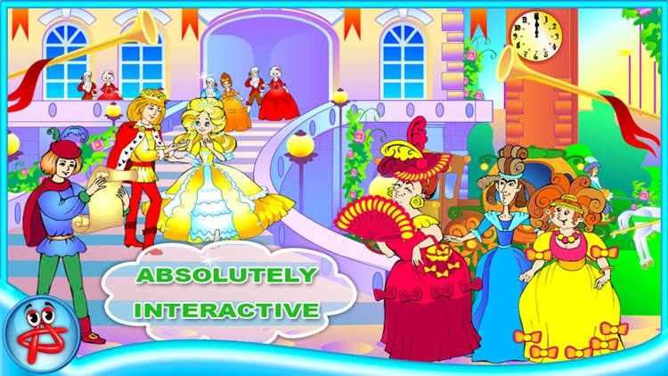 Cinderella Classic Fairy Tale: Book for Kids screenshot-1