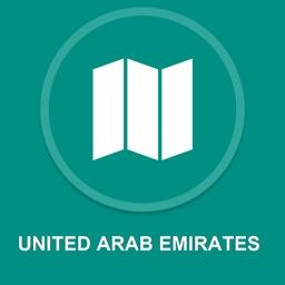 United Arab Emirates : Offline GPS Navigation