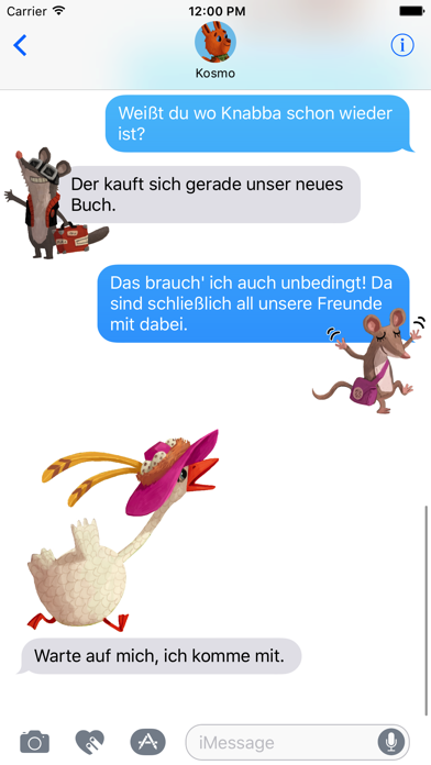 Kosmo & Klax: Sticker-Fun! screenshot 3