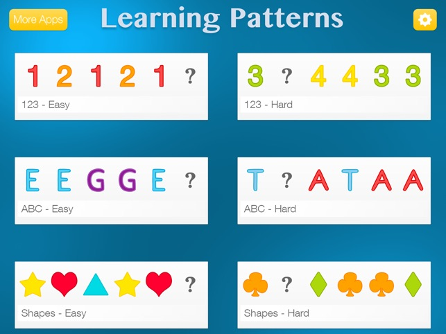 Learning Patterns - Pattern & Logic Game for Kids
