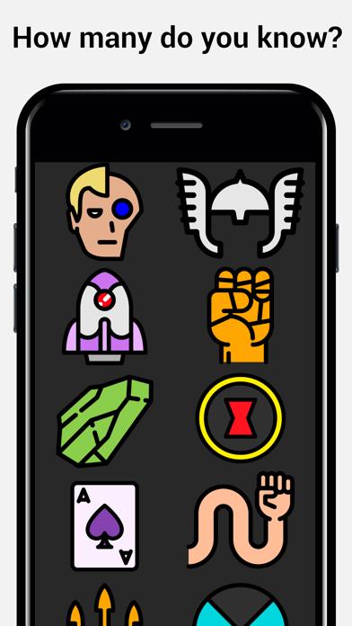 Superhéroe Quiz preguntas y respuestas juego-HéroeCaptura de pantalla de2