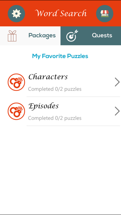Word Search - Orange is the New Black EditionScreenshot of 1