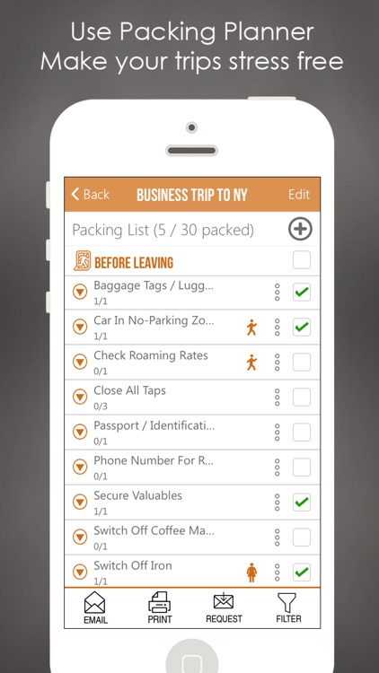 Packing List Pro - Pack To Do Travel Checklist App