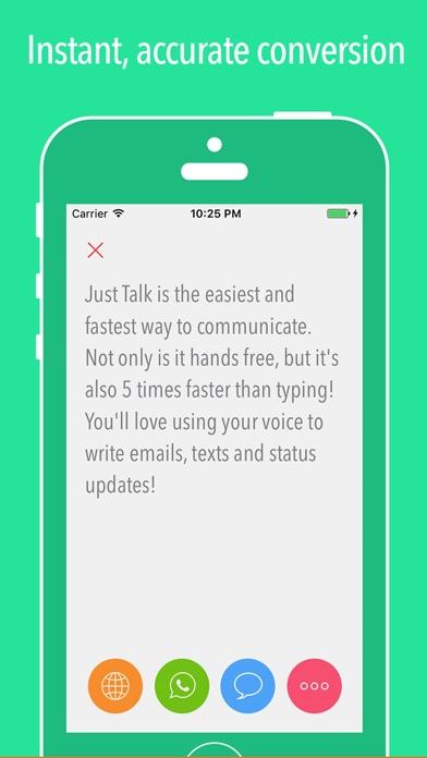 Just Talk ~ Speech-To-Text