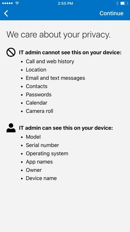 Microsoft Intune Company Portal screenshot-3