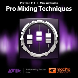 Course For Pro Tools 10 - Pro Mixing Techniques
