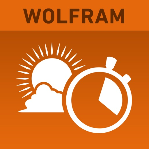 Wolfram Sun Exposure Reference App icon