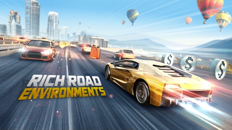 Road Racing: Highway Traffic Driving 3D