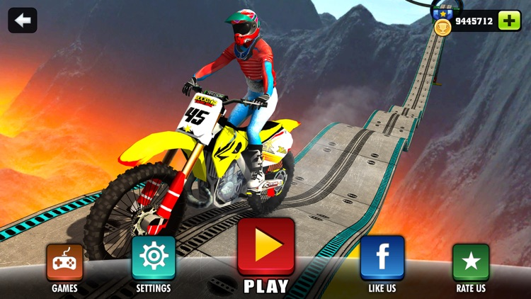 Motorbike Driving Simulator - impossible Tracks 3D
