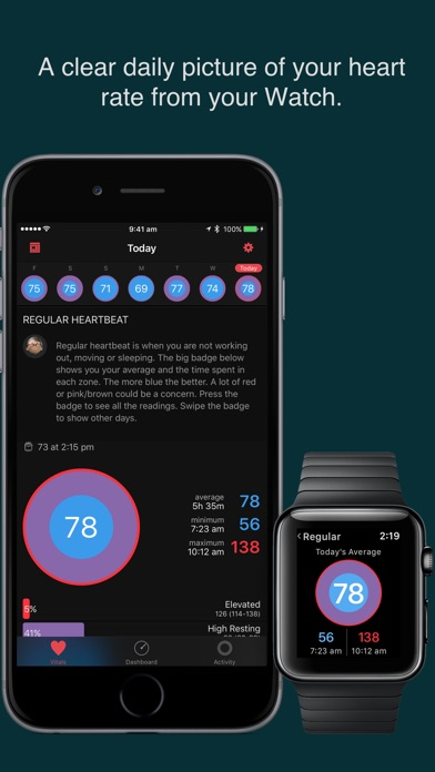HeartWatch. Heart & A... screenshot1