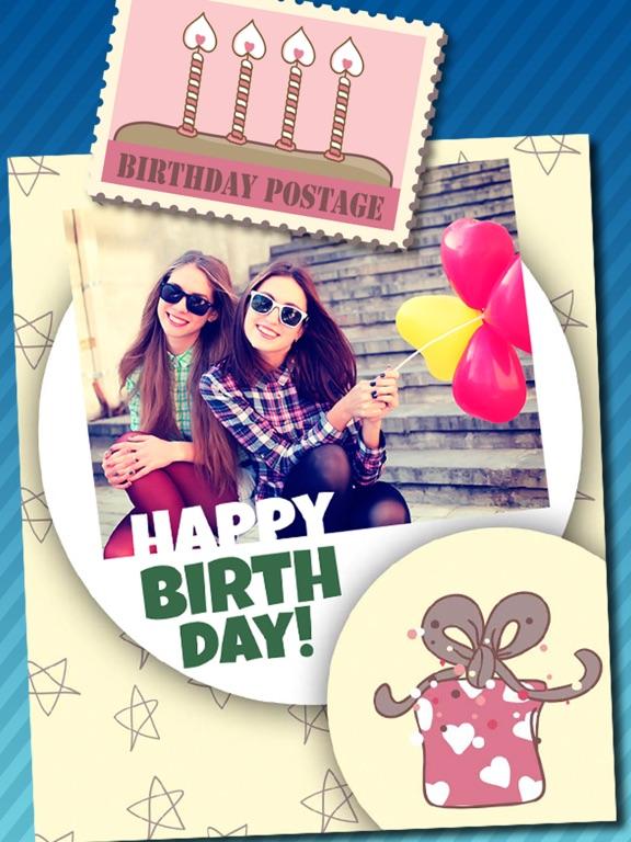 Screenshot 5 For Birthday Greeting Cards Photo Editor Pro