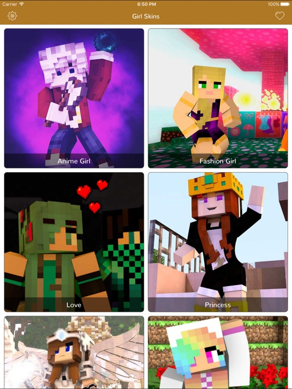 Girl Skins For Minecraft Pocket Edition Mcpe Skins Online